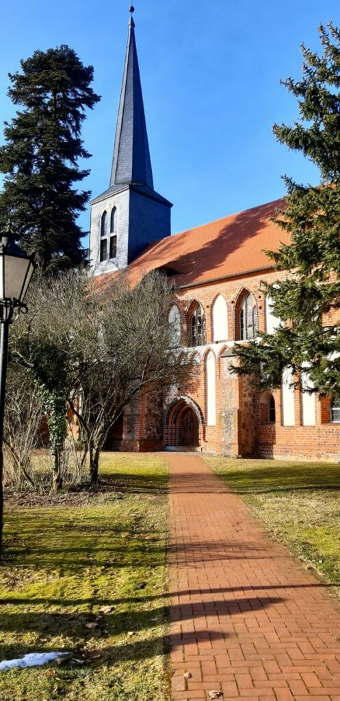 Klosterkirche Marienfließ (Foto: Nikolaus Raben)